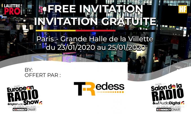 Visit TRedess at European Radio Show 2020 in Paris